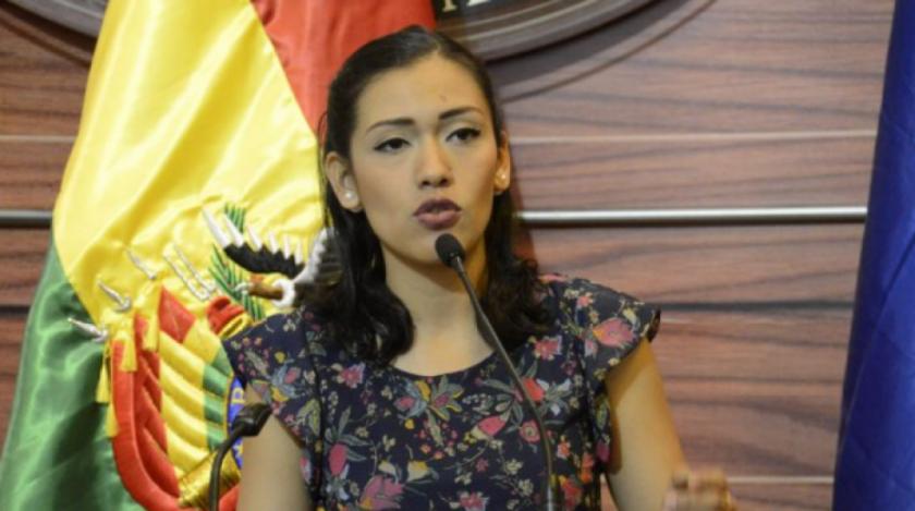 """Salvatierra: """"Nunca acepté la presidencia de Áñez, ella asumió en una sesión sin quórum"""""""