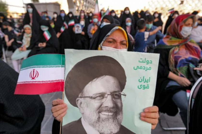 Ultraconservador Raisi, elegido presidente de Irán en primera vuelta