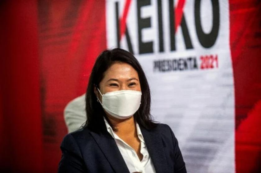 Audiencia de prisión preventiva a Keiko Fujimori eleva tensión política en Perú