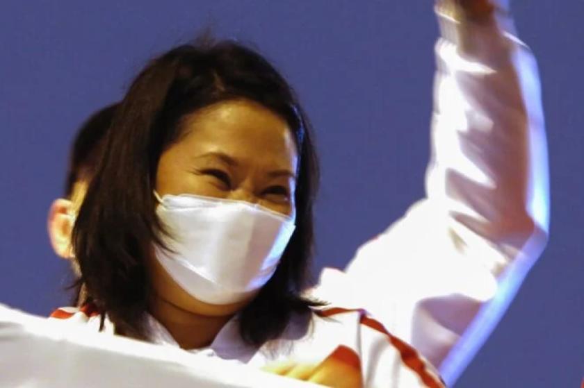 Juez peruano debe decidir pedido de prisión preventiva para Keiko Fujimori