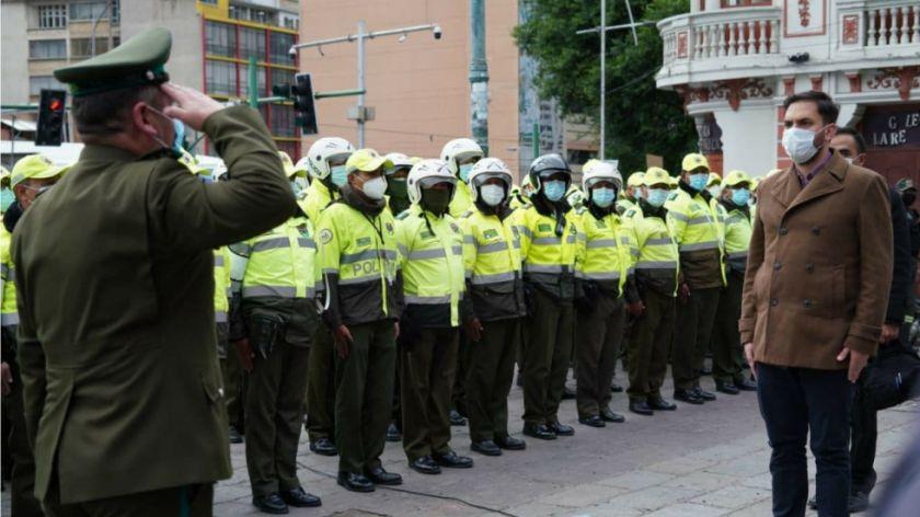 CC dice que ley de ascensos busca que el Ministerio de Gobierno tenga 'control' en la Policía