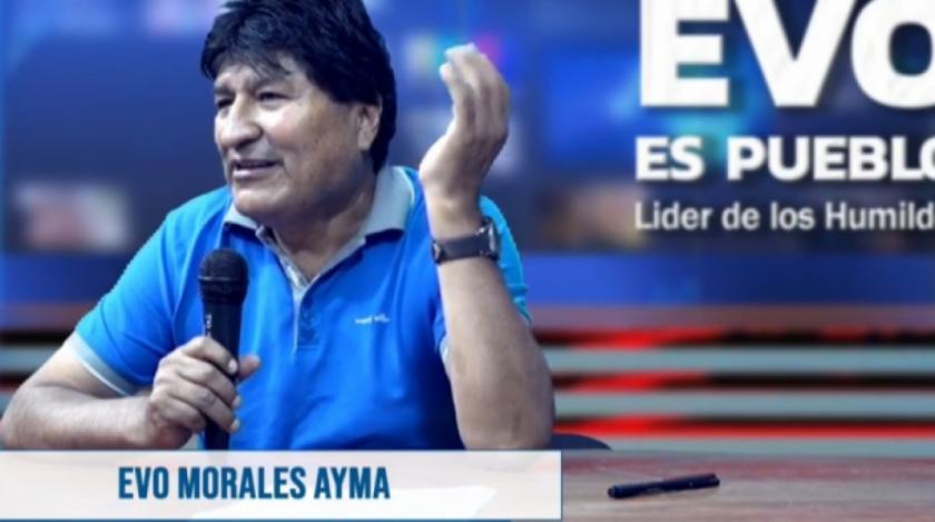 """Evo Morales revela la """"intromisión"""" en el TSE, TCP y TSJ mediante comunicaciones desde Argentina en 2020"""