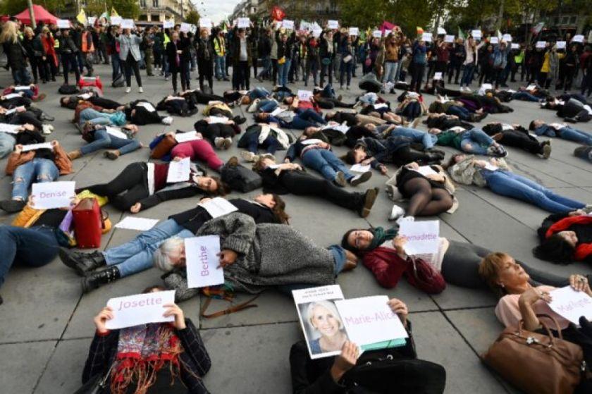 En Europa, la pandemia se aleja y los feminicidios se recrudecen