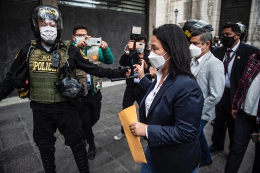 Keiko Fujimori pide auditoría internacional para revisar elecciones en Perú