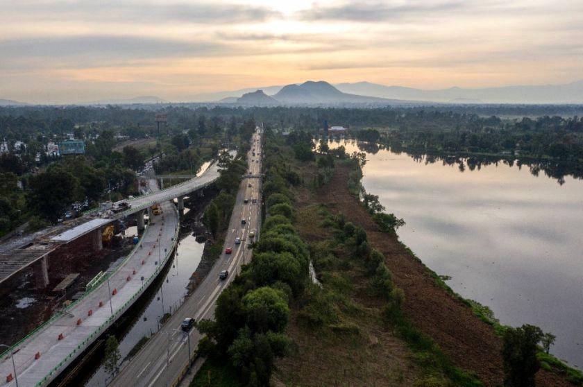 Una mole de concreto amenaza una icónica reserva de Ciudad de México