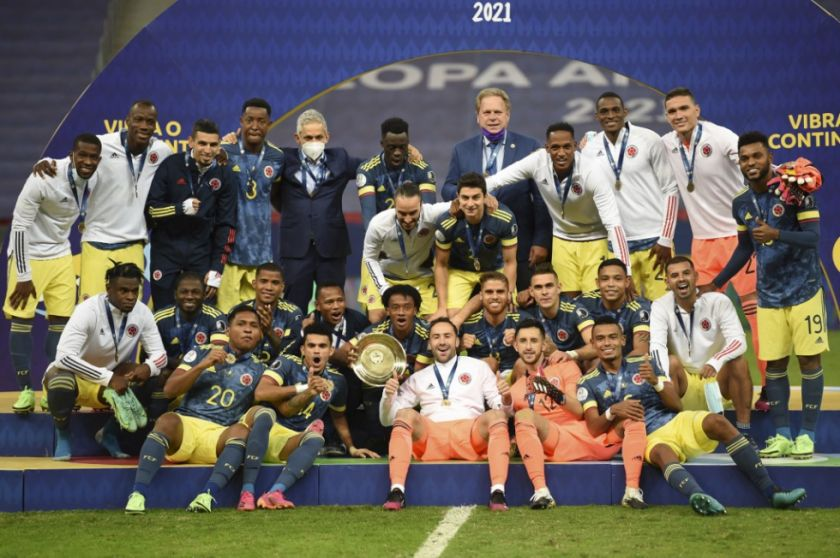 Colombia se fue bailando con el tercer puesto de la Copa América-2021