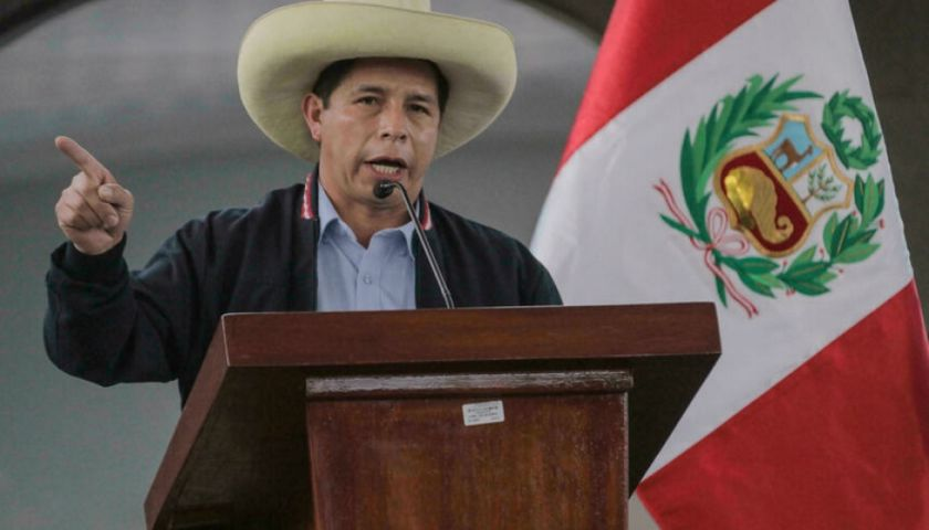 Bolivia felicita el triunfo de Castillo en Perú y expresa su deseo de profundizar lazos de hermandad