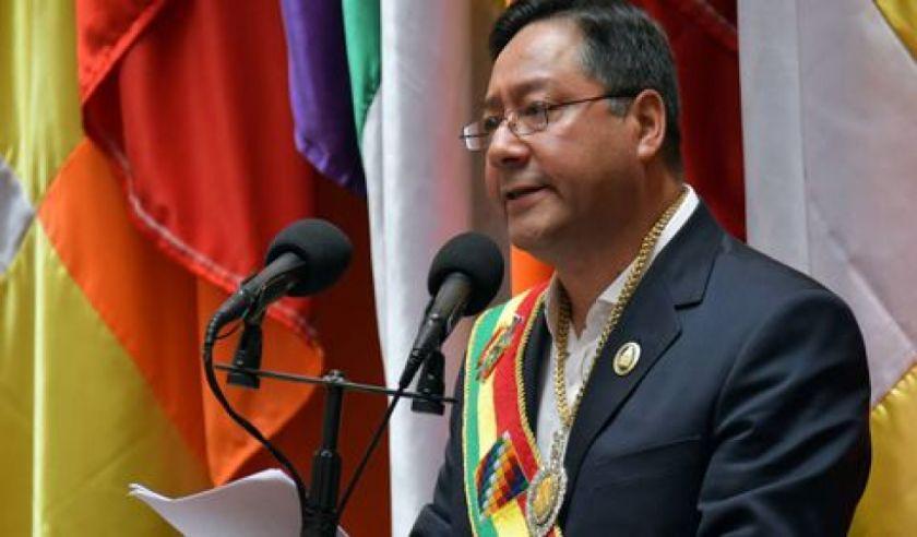 Luis Arce confirma que asistirá a la posesión del presidente electo del Perú, Pedro Castillo
