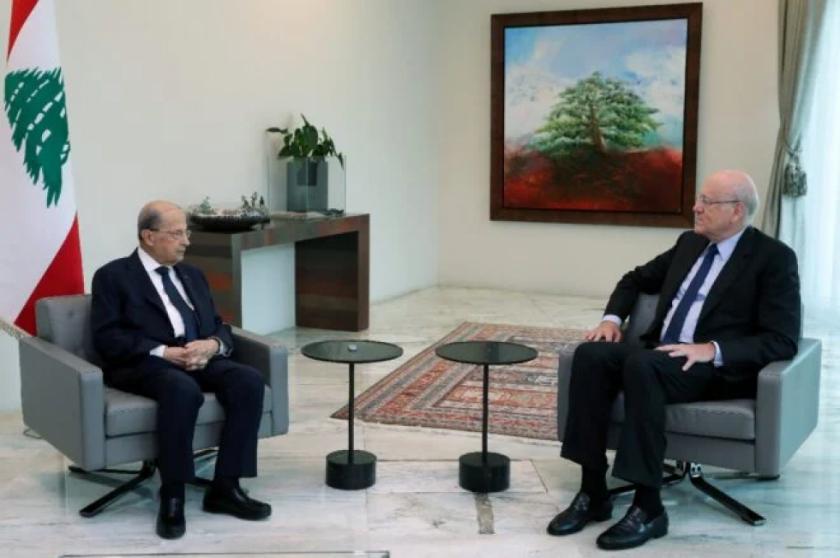 Presidente del Líbano inicia consultas para designar nuevo primer ministro