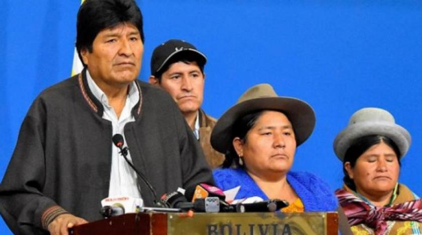 """Revelan que Evo Morales anticipó que se conocería otra investigación que mostraría que """"no hubo fraude"""""""