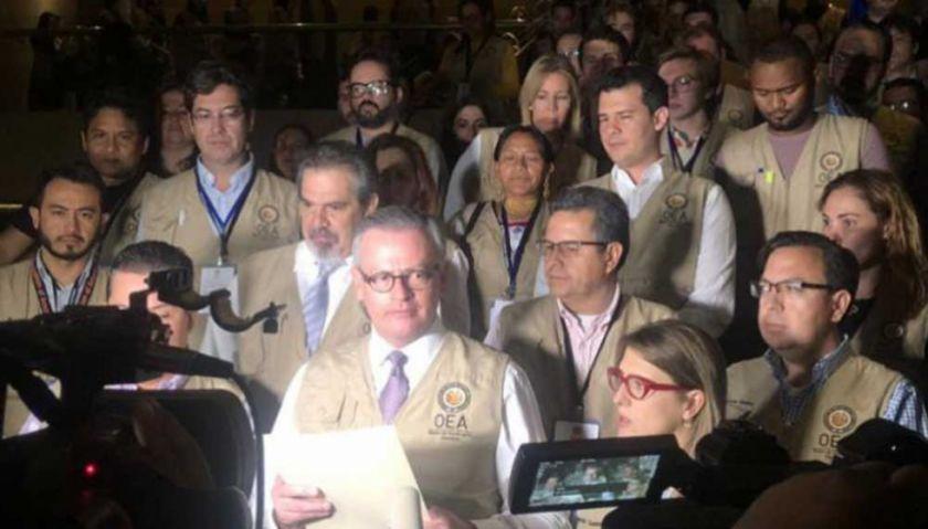 Cámara de Representantes de EEUU propone investigar el papel de la OEA en elecciones de Bolivia de 2019