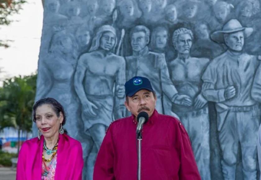 La UE sanciona a la esposa y al hijo de Ortega por la represión en Nicaragua