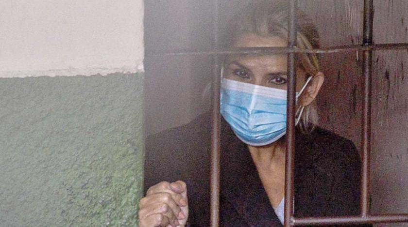 Con nueva detención preventiva, Áñez seguirá en la cárcel hasta inicios de febrero de 2022