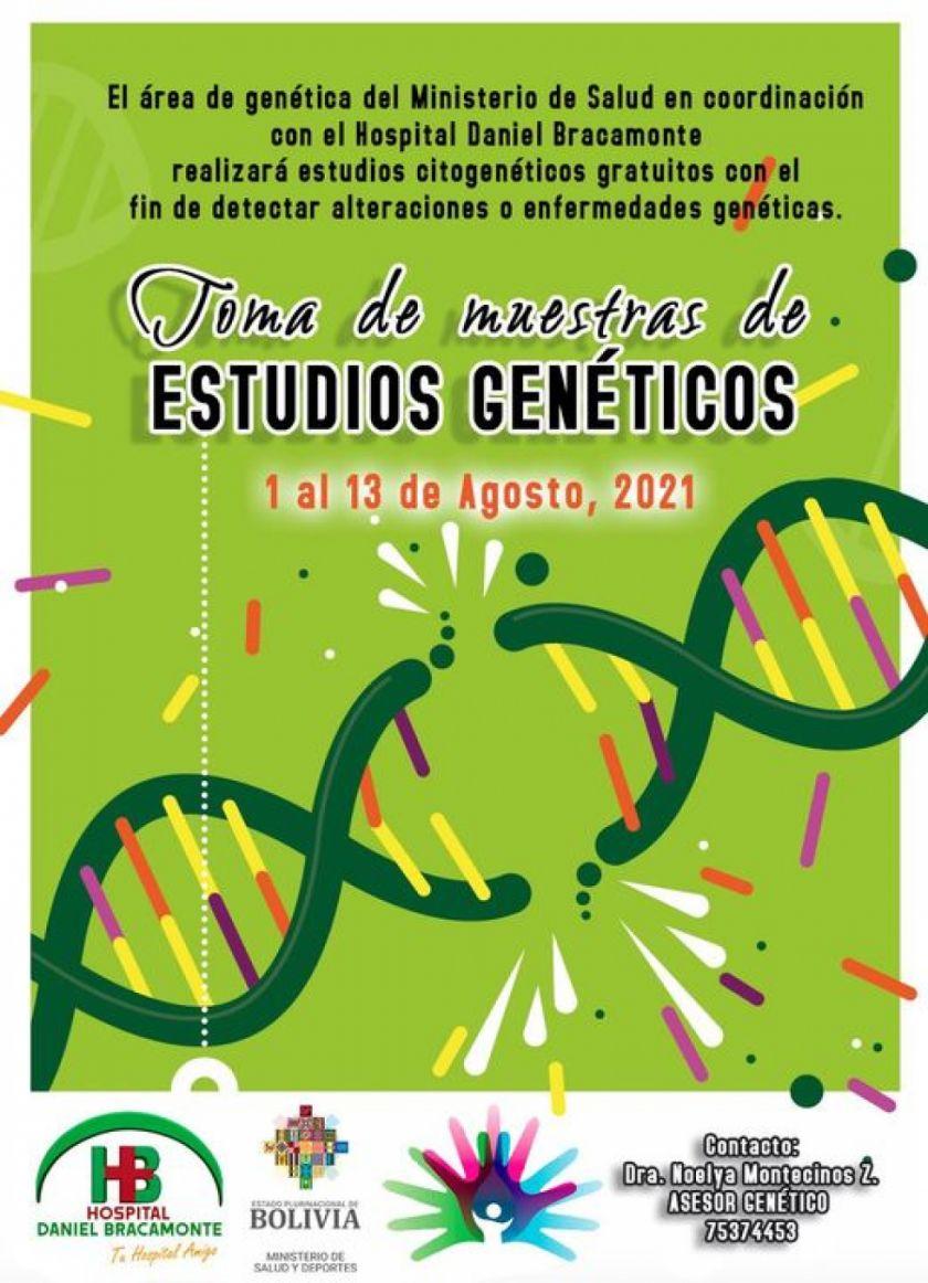 Promueven detección de problemas genéticos en el Hospital Bracamonte