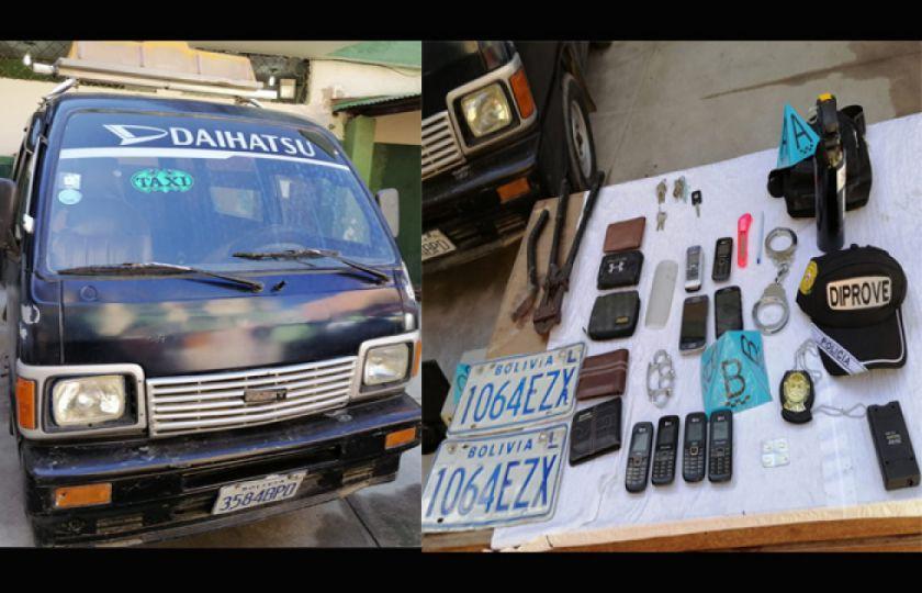 """Policía desbarata al """"clan Manzaneda"""" y aprehende a cuatro personas en El Alto"""