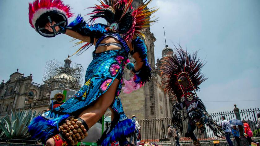 """Cinco siglos después, Tenochtitlan """"resiste"""" en pleno corazón de Ciudad de México"""