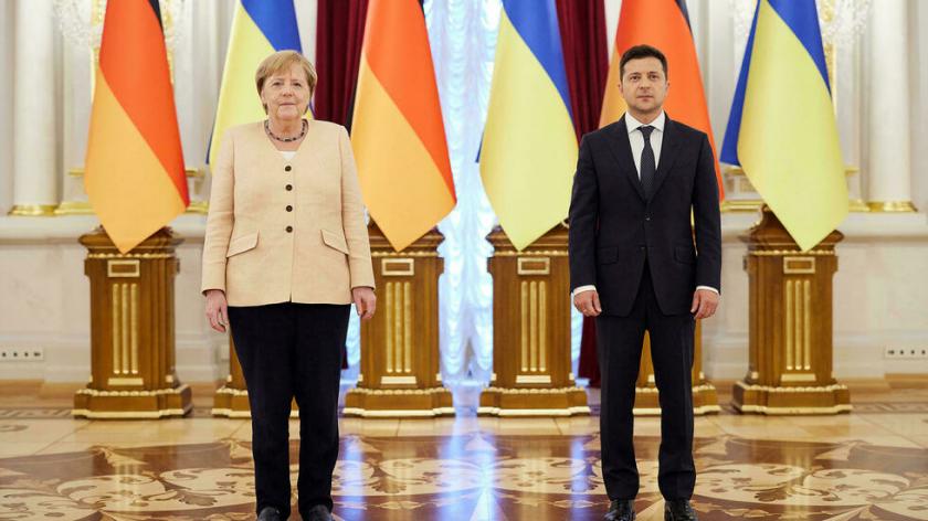 El gas ruso no debe ser utilizado como arma contra Ucrania, afirma Merkel