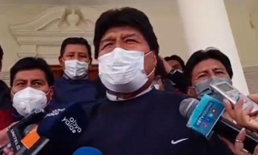 Morales sugiere analizar ley para evitar que militantes postulen por otro partido