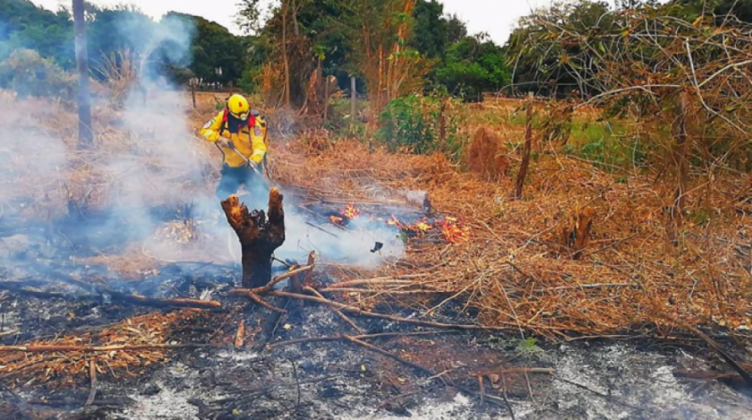 Incendios en Santa Cruz consumen 786.584 hectáreas y afectan a siete áreas protegidas