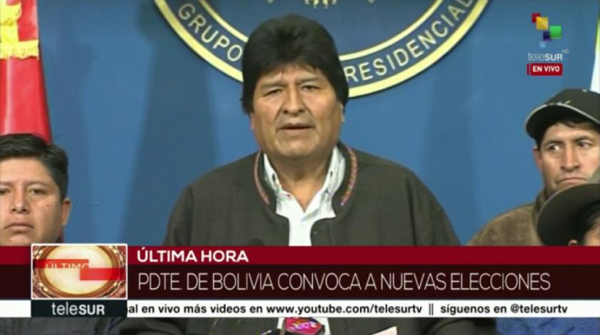 Justiniano le recuerda al Gobierno que Evo Morales anuló elecciones de 2019 con auditoría de la OEA