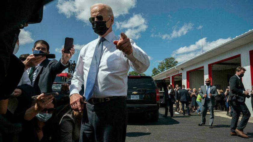 Biden defiende la retirada de Afganistán al margen de ceremonias por el 11-S