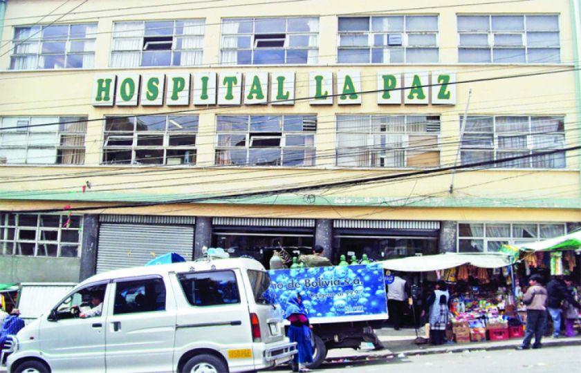 Sirmes denuncia carencia de insumos y equipos en el Hospital La Paz y centros de primer nivel