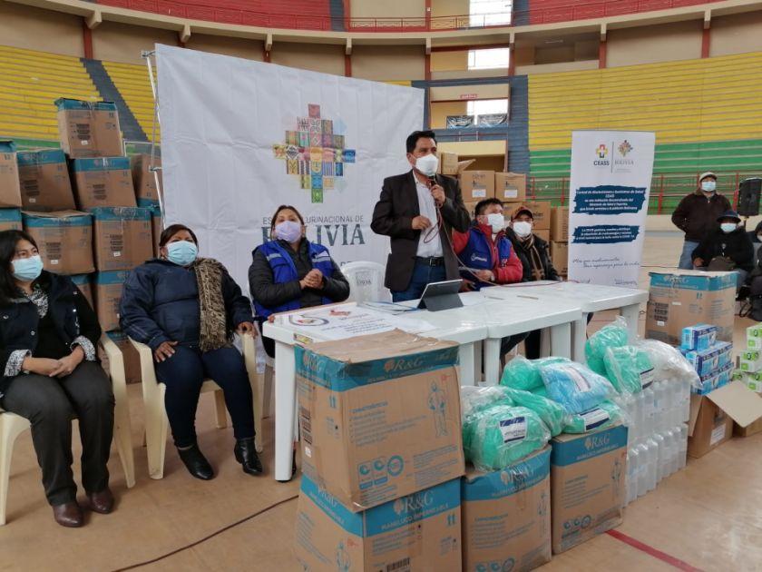 Ministerio de Salud activa desde este jueves campaña para la vacunación 'casa por casa' en El Alto