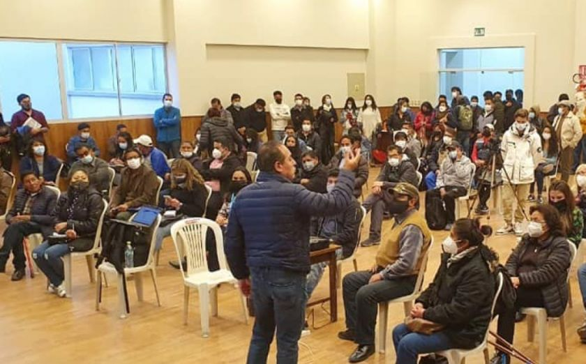 Dockweiler organiza marcha por la democracia y la justicia en apoyo a víctimas de Senkata