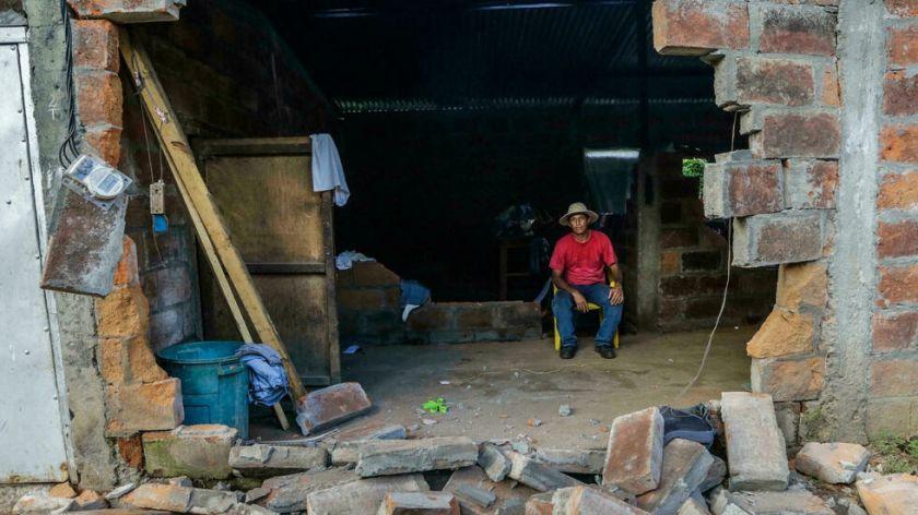 Sismo de magnitud 6,5 frente a la costa oeste de Nicaragua, según el USGS