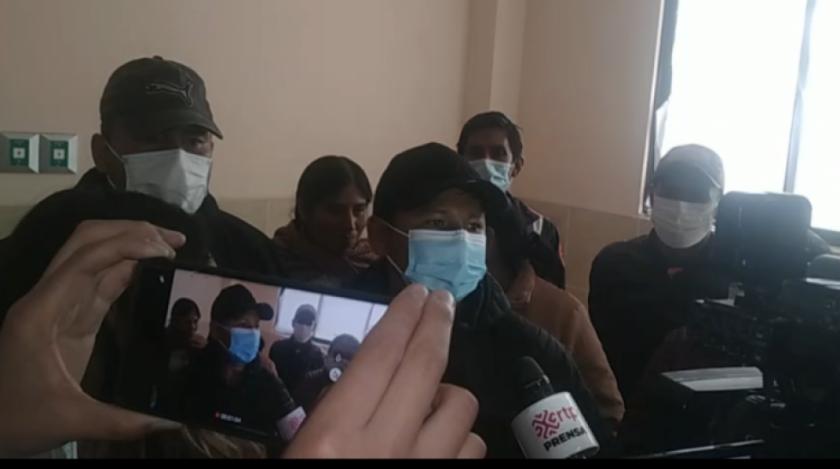 Lluta relata que durante su desaparición lo persiguieron, golpearon y amenazaron de muerte