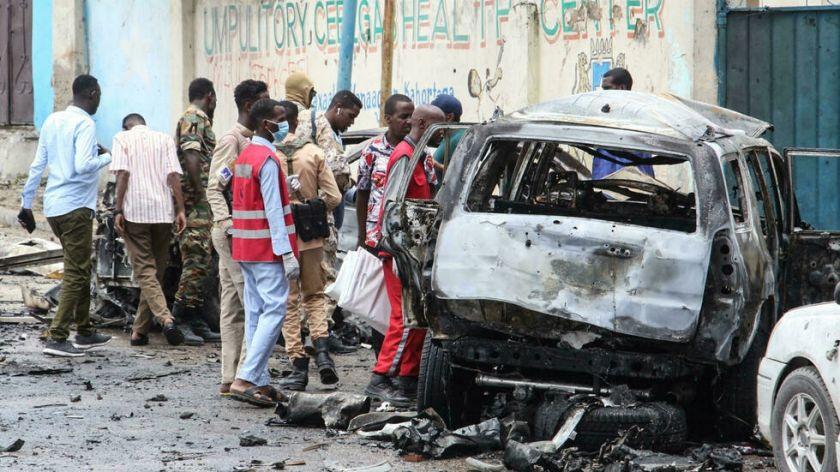 Reportan que hay ocho muertos en un ataque con coche bomba cerca del palacio presidencial somalí