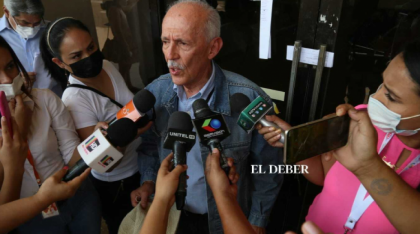 Fiscalía cita a declarar al padre de Luis Fernando Camacho para el 5 de octubre