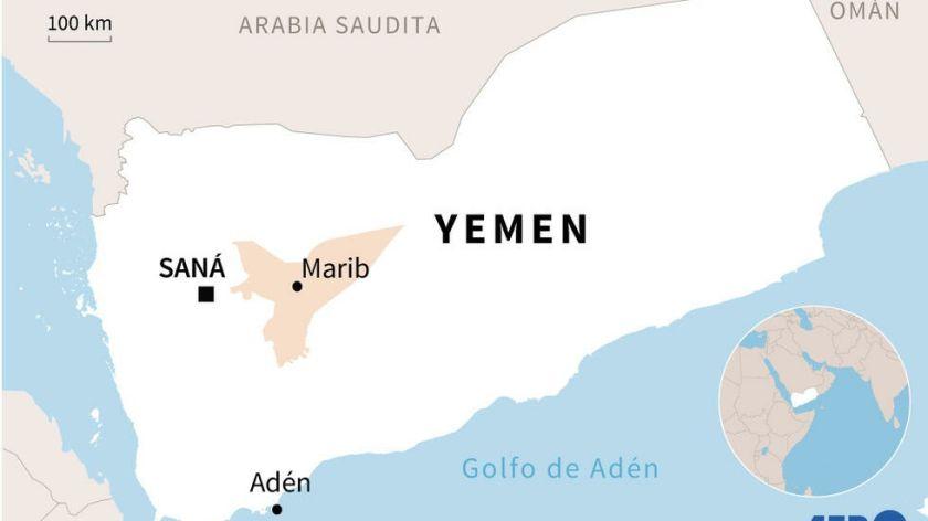 Reportan que al menos 67 muertos en combates en la provincia yemení de Marib