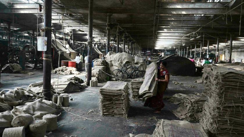 El auge en India de la industria del yute aparece como alternativa al plástico