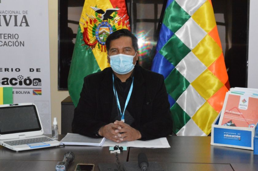 Bolivia prevé retorno de estudiantes a clases presenciales en 2022