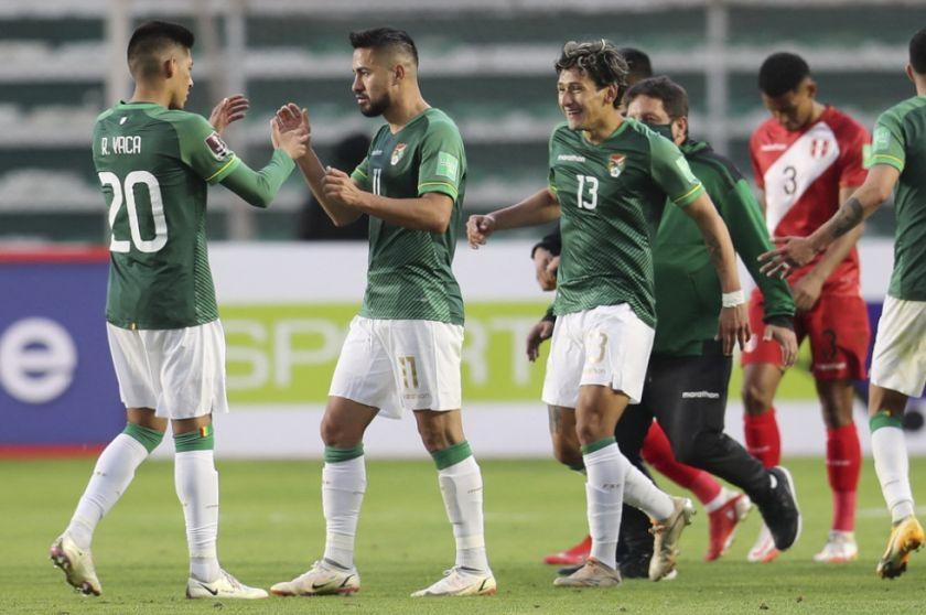 Bolivia gana y renace su ilusión en las eliminatorias