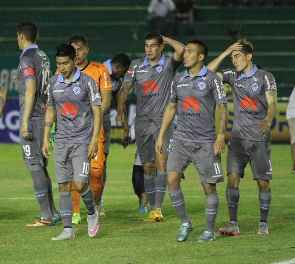 Los celestes solo piensan en la Copa Sudamericana