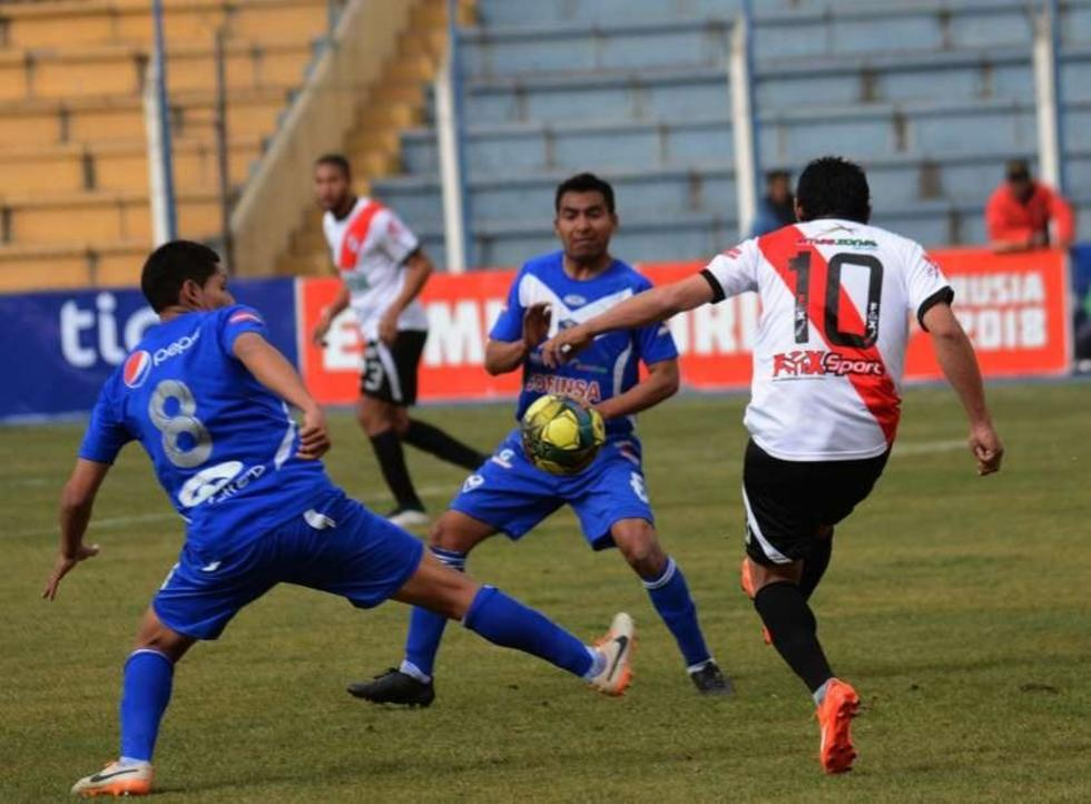 Nacional Potosí se impuso por 1-0 al Santo