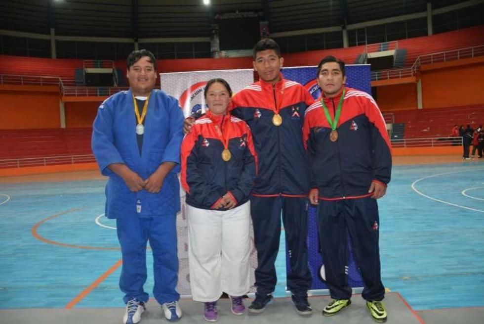 Potosinos consolidan dos oros y dos platas en el judo