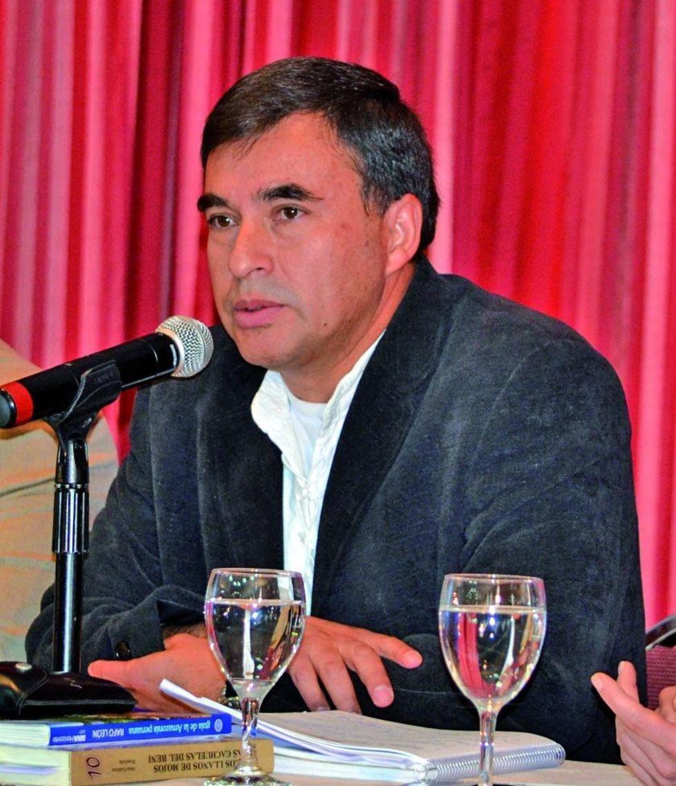 El ministro de la presidencia Juan Ramón de la Quintana.