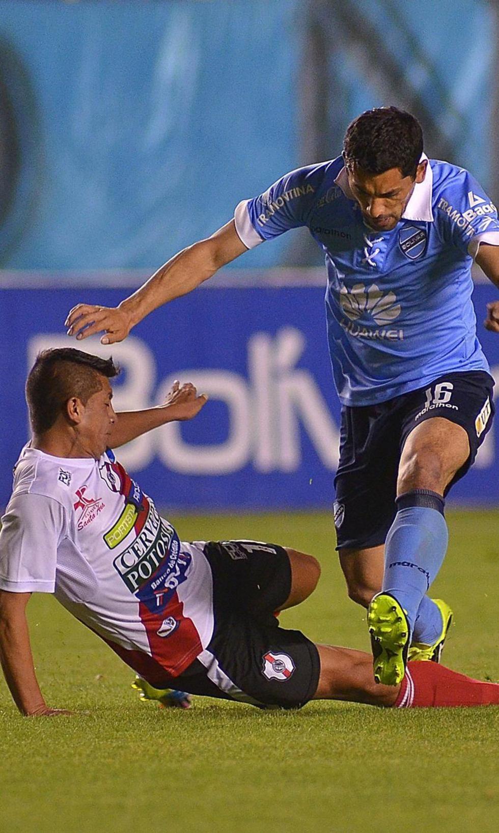 Nacional Potosí cayó ante Bolívar por 6-3 en el Hernando Siles