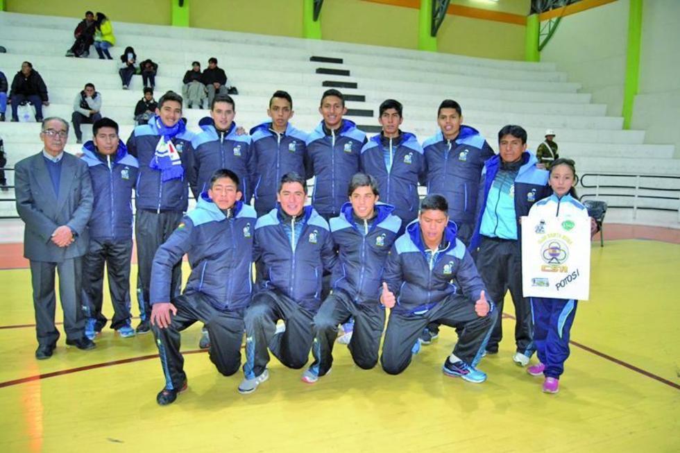 El equipo de Santa Rosa de Potosí.