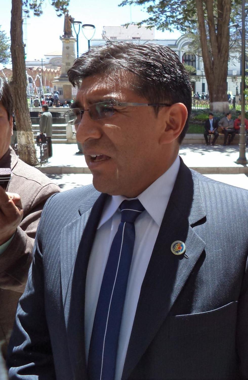 El fiscal Antonio Leniz en declaraciones a el Potosí.
