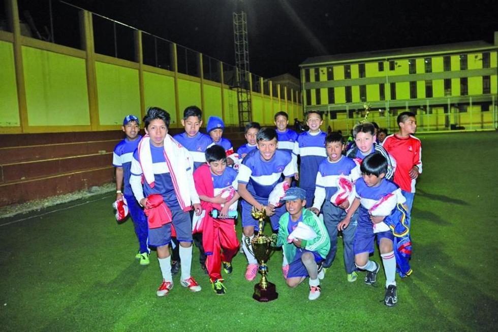 El equipo de P.A.T. en la categoría Sub-13