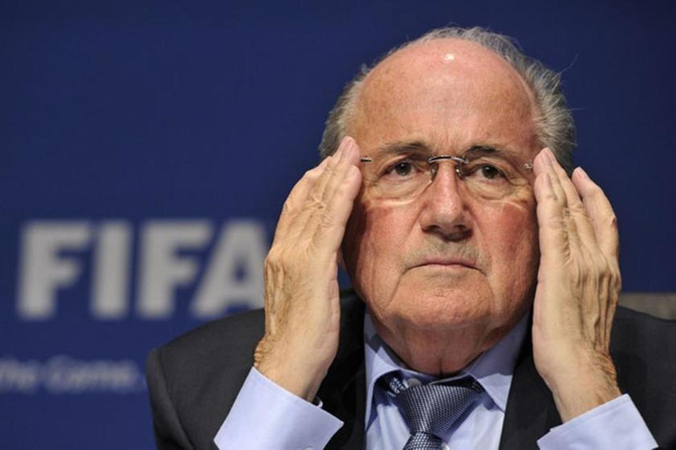 El suizo Joseph Blatter.
