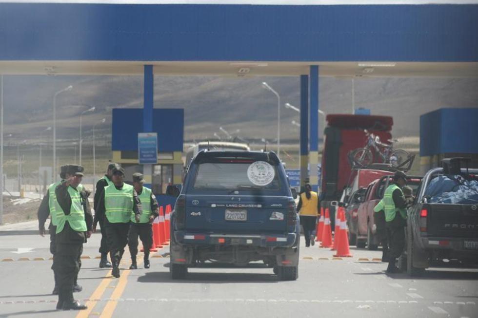 La Policía cerrará los caminos el 7 de enero