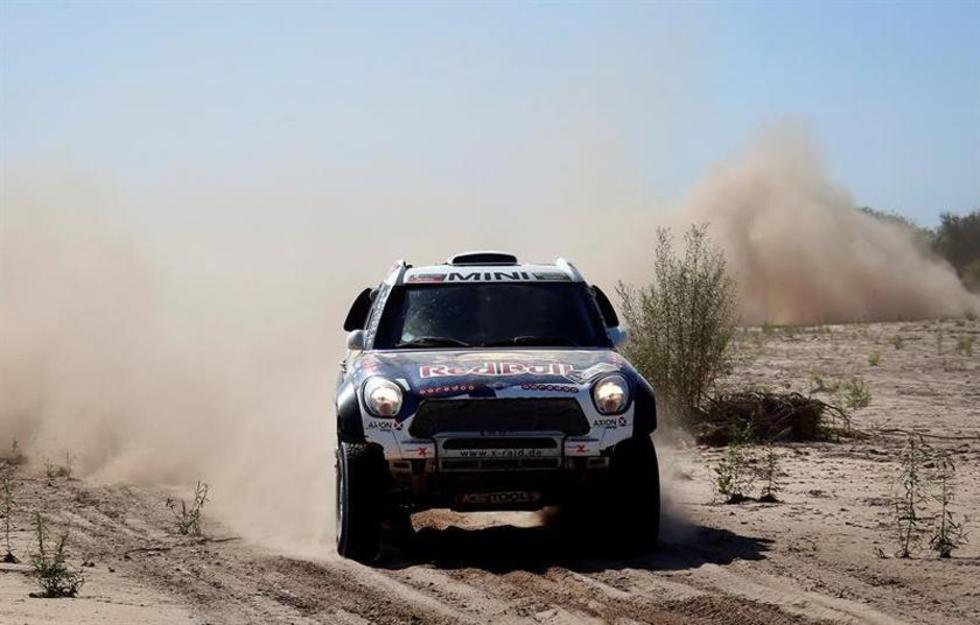 Los pilotos bolivianos enfrentan dificultades en Dakar en Argentina