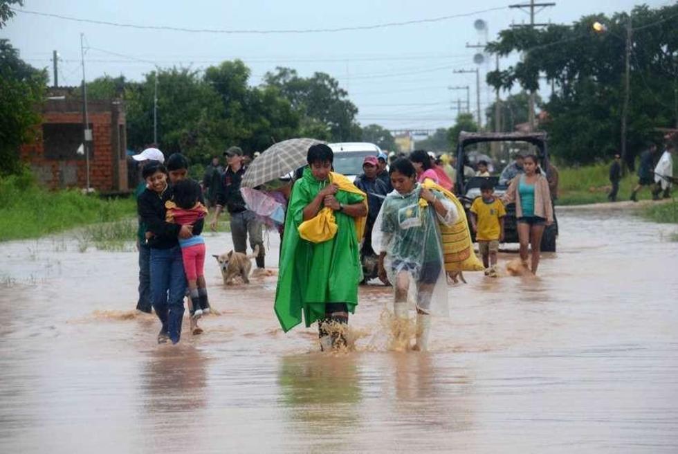 El Gobierno envió ayuda humanitaria para 8.600 familias y que tiene la capacidad de atender a 100 mil.