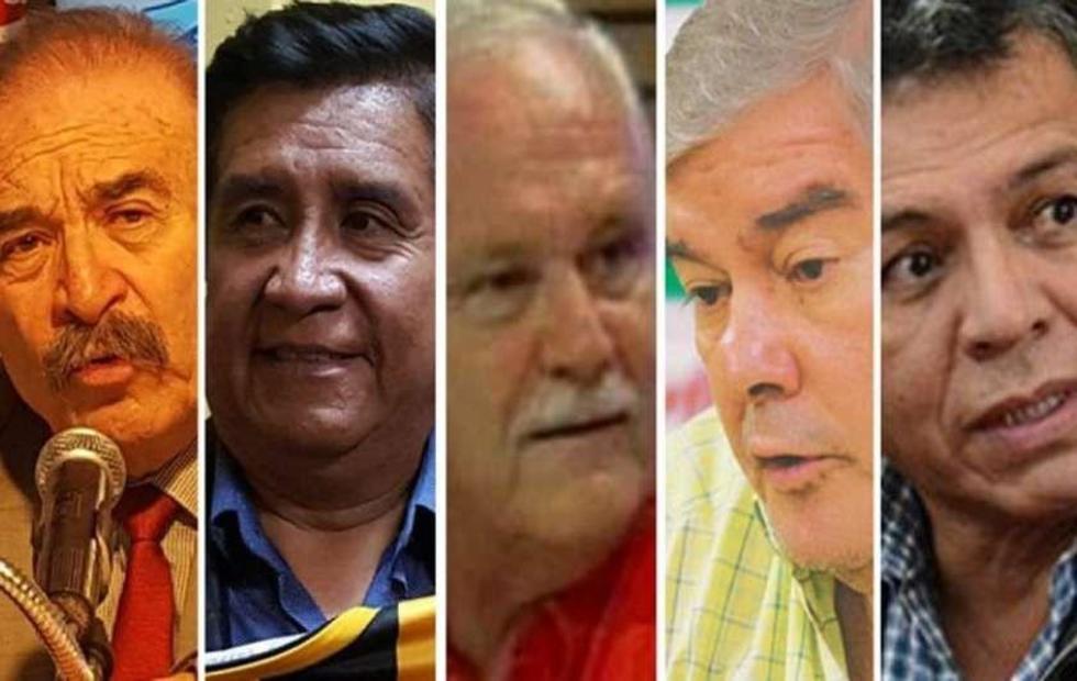 """Los cinco """"grandes"""" van por  la silla presidencial"""