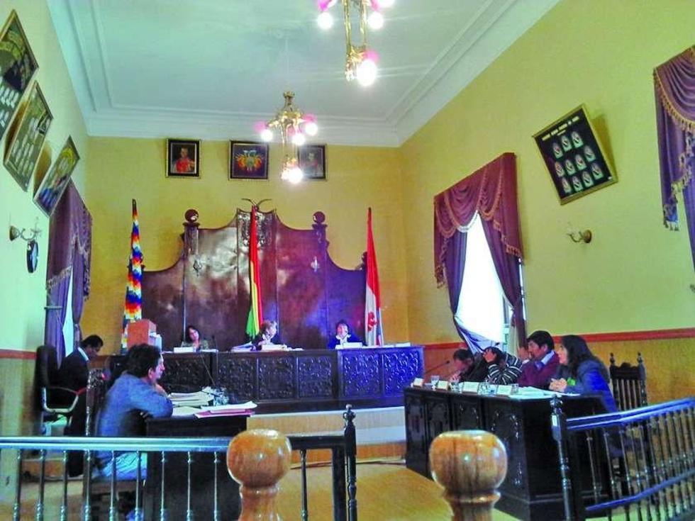 Aprueban incremento de hasta el 17 por ciento en la Alcaldía de Potosí